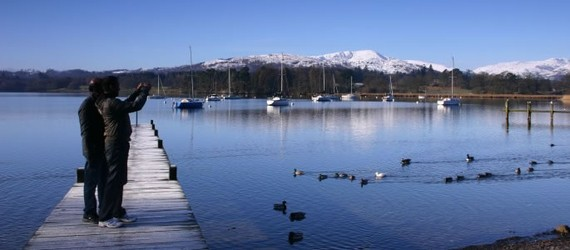 Hồ Windermere. Ảnh: Lake District Tours