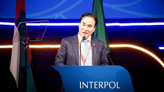Ứng cử viên người Hàn Quốc Kim Jong Yang. Ảnh: Interpol