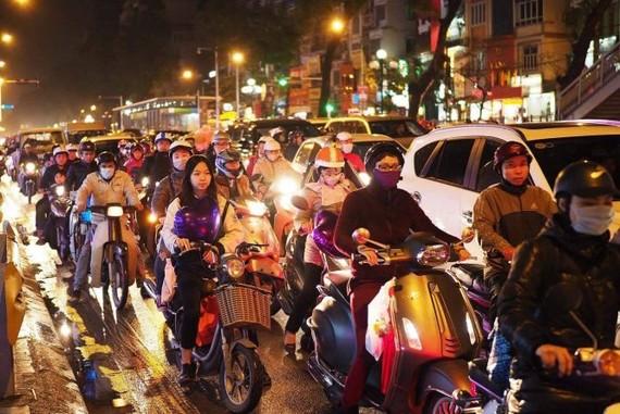 Hà Nội đề xuất cấm xe máy vào nội thành từ 2030