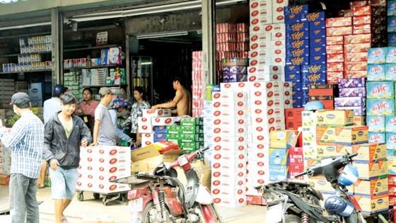 Một cửa hàng tạp hóa quy mô lớn ở quận 6, TPHCM. Ảnh: Thành Trí