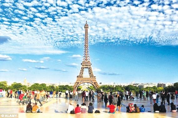 Pháp tiếp tục là điểm đến du lịch hấp dẫn