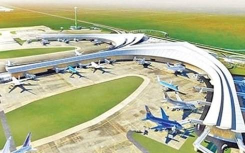 Phối cảnh sân bay quốc tế Long Thành (Ảnh: KT)