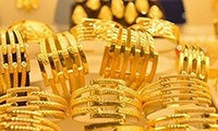 Giá vàng khởi sắc khi giới đầu tư gia tăng hoạt động mua vào
