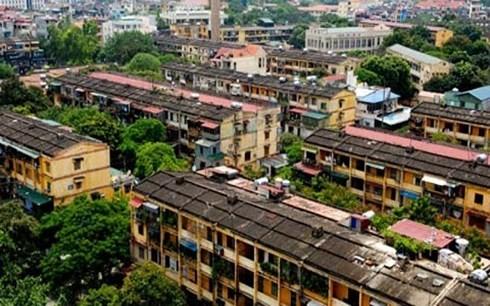 Hà Nội xin cơ chế riêng để cải tạo chung cư cũ