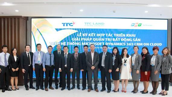 TTC LAND và FPT Software triển khai Hệ thống Dynamics 365 On Cloud