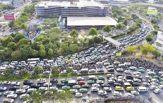 Không để xảy ra ùn tắc khu vực sân bay Tân Sơn Nhất dịp Tết