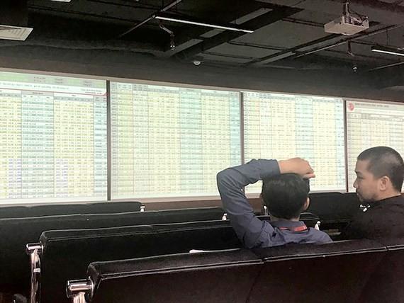2 phiên giảm điểm kỷ lục, vốn hóa TTCK Việt Nam mất 14 tỷ USD Ảnh: Huy Anh