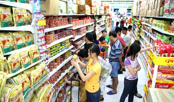 Thị trường giáp tết: Hàng hóa dồi dào, sức mua bắt đầu tăng