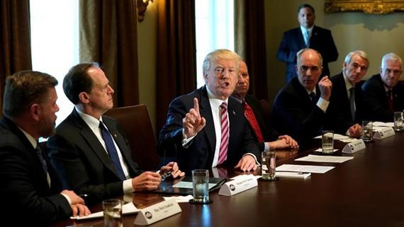 Tổng thống Mỹ Donald Trump và nội các