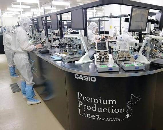 Nhà máy của Casio ở Yamagata. (Nguồn: Nikkei)