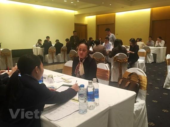 Các doanh nghiệp nhỏ và vừa Nhật Bản xúc tiến đầu tư tại Việt Nam. (Ảnh: Vietnam+)