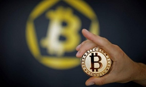 Tiền ảo Bitcoin . Ảnh: Reuter