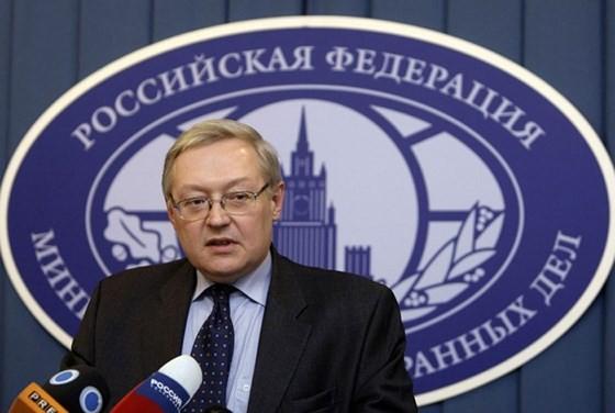 Thứ trưởng Ngoại giao Nga Sergey Ryabkov