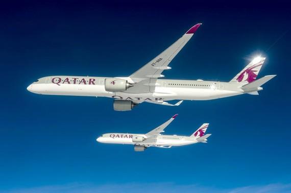 Airbus bàn giao máy bay thân rộng A350-1000 đầu tiên trên thế giới