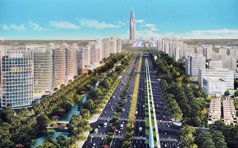 Mô hình thành phố thông minh. (Ảnh minh họa: kt).