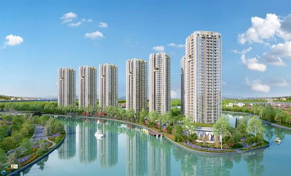 Gem Riverside thuộc phân khúc cao cấp đầu tiên do Tập đoàn Đất Xanh đầu tư và phát triển tại khu Đông thành phố.