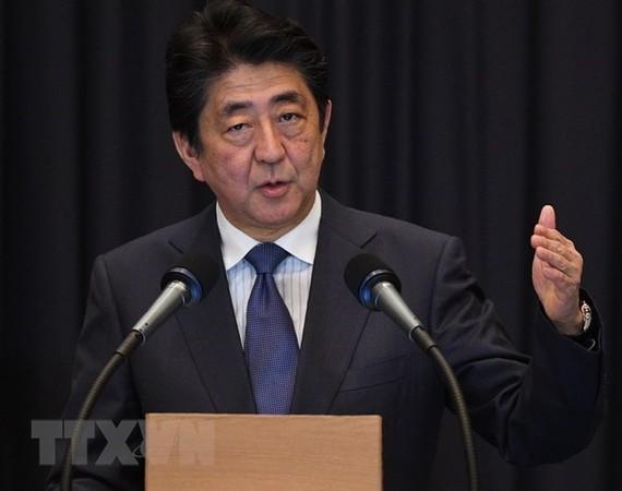 Thủ tướng Nhật Bản Shinzo Abe. (Nguồn: AFP/TTXVN)