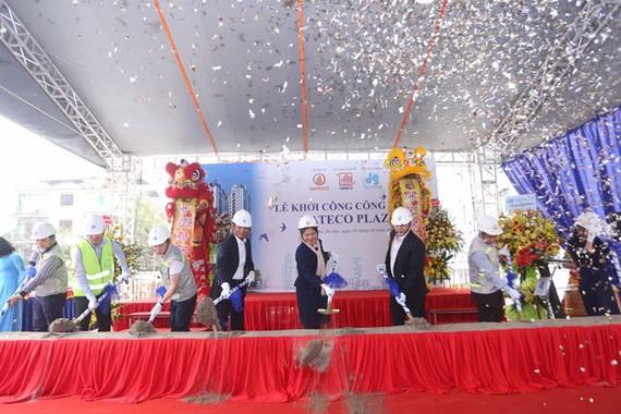 Lễ khởi công dự án tòa nhà thương mại - văn phòng và căn hộ Hateco (Hà Nội).