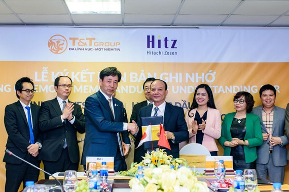 T&T Group và Hitachi Zosen hợp tác đầu tư điện rác tại Hà Nội