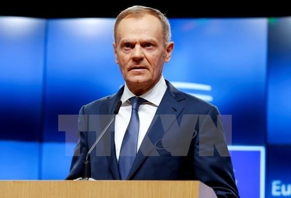 Chủ tịch Hội đồng châu Âu Donald Tusk. (Nguồn: THX/TTXVN)