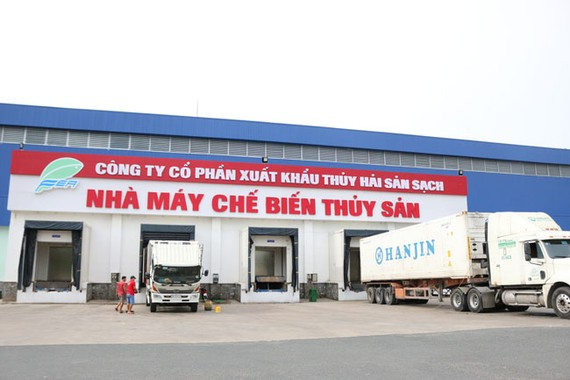 Nhà máy chế biến thuỷ sản sạch của công ty IDI