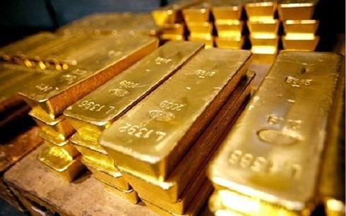 Giá vàng tăng vọt lên đỉnh 5 tuần. (Ảnh: KT).