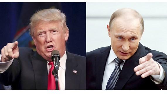 Tổng thống Mỹ Donald Trump và Tổng thống Nga Vladimir Putin.Ảnh: REUTERS