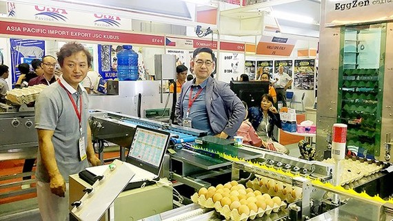 Nhiều sản phẩm công nghệ cao trong nông nghiệp được trưng bày tại triển lãm