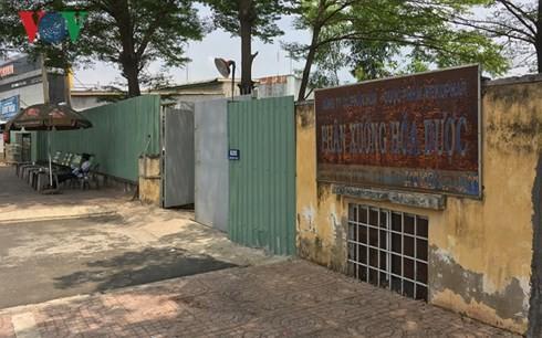 Khu đất số 620 Kinh Dương Vương do Công ty cổ phần hoá - dược phẩm Mekophar quản lý.