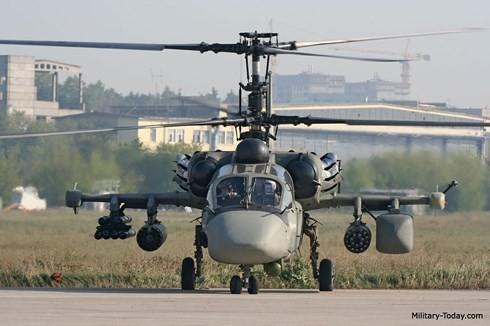 Máy bay quân sự K-52 của Nga. Ảnh: Military Today.