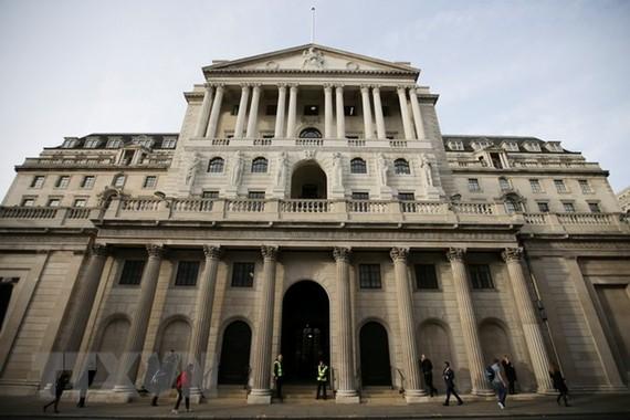 Trụ sở BoE tại thủ đô London. (Ảnh: AFP/TTXVN)