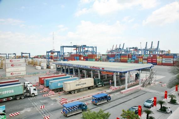 Hàng hóa khó cập Cảng Cát Lái