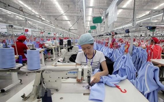 Công ty TNHH may Tinh Lợi, tại Khu công nghiệp Lai Vu, huyện Kim Thành (Hải Dương).