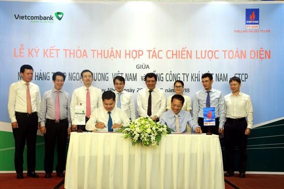 Vietcombank cung cấp gói tín dụng 4.000 tỷ đồng cho PV Gas