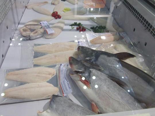 Sản phẩm cá tra xuất khẩu