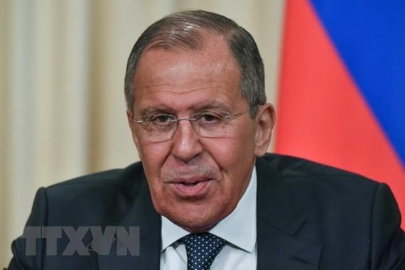 Ngoại trưởng Nga Sergei Lavrov. (Ảnh: AFP/TTXVN)