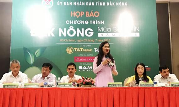 UBND tỉnh Đắk Nông tổ chức họp báo, giới thiệu về lễ hội bơ.