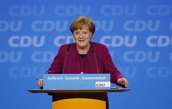 Thủ tướng Đức Angela Merkel    Ảnh: AP.