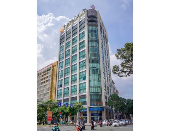 Tòa nhà Ruby Tower tại TP.HCM, nơi Công ty Hanwha Life Việt Nam đặt trụ sở chính