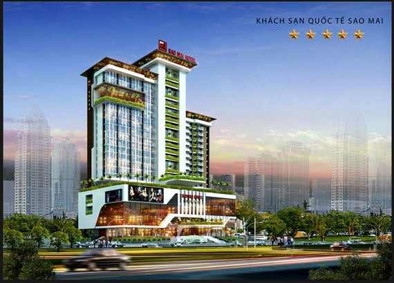 Tổ hợp khách sạn quốc tế và Văn phòng cho thuê đạt chuẩn 5 sao tại KĐT mới Nhựt Hồng