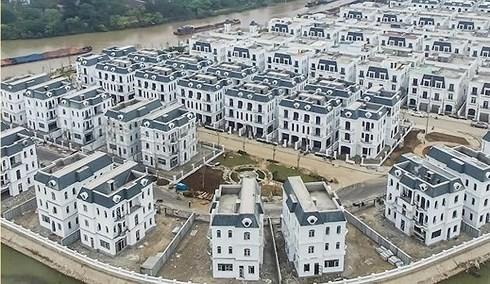 Một khu đô thị mới hình thành ở phía Đông Hà Nội.