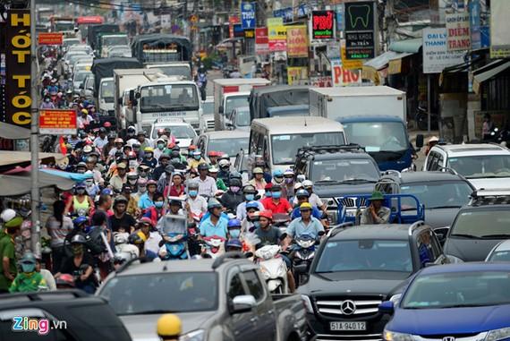 TPHCM: Hạn chế xe tải lưu thông trong nội đô
