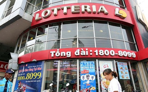 Chuỗi thức ăn nhanh Lotteria cũng dính nghi án chuyển giá. (Ảnh: Ngọc Dương)