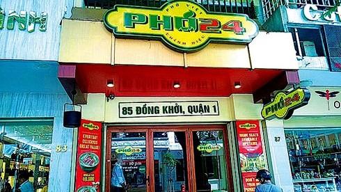 Phở 24 là 1 trong 3 doanh nghiệp Việt được cấp phép hoạt động nhượng quyền thương mại ra nước ngoài. (Ảnh: Báo Công Thương)