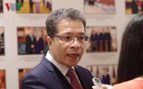 Đại sứ Việt Nam tại Trung Quốc Đặng Minh Khôi.