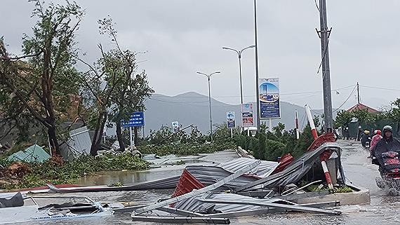 Bão số 4 đã suy yếu dần, chủ động đối phó với áp thấp nhiệt đới