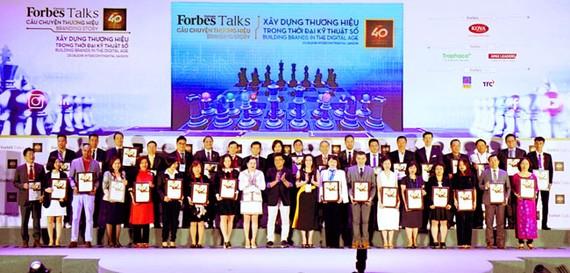 Vietjet vào top 40 thương hiệu giá trị nhất Việt Nam 2018 của Forbes