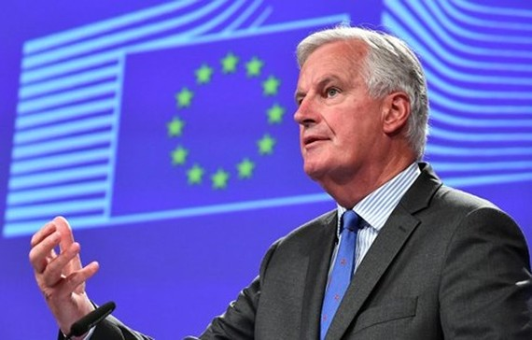 Trưởng đoàn đàm phán Brexit của Liên minh châu Âu, Michel Barnier. Ảnh: Getty.