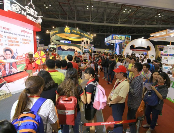 Vietjet tặng 2,3 triệu vé giá 0 đồng tại Hội chợ Du lịch quốc tế TPHCM