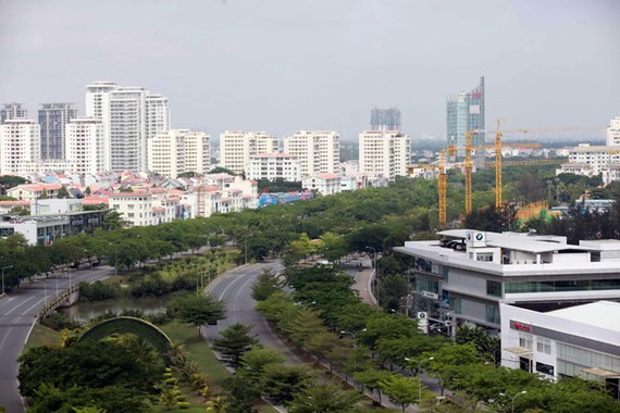 Khu đô thị phía nam Sài Gòn là dự án đầu tư theo hình thức PPP đạt hiệu quả